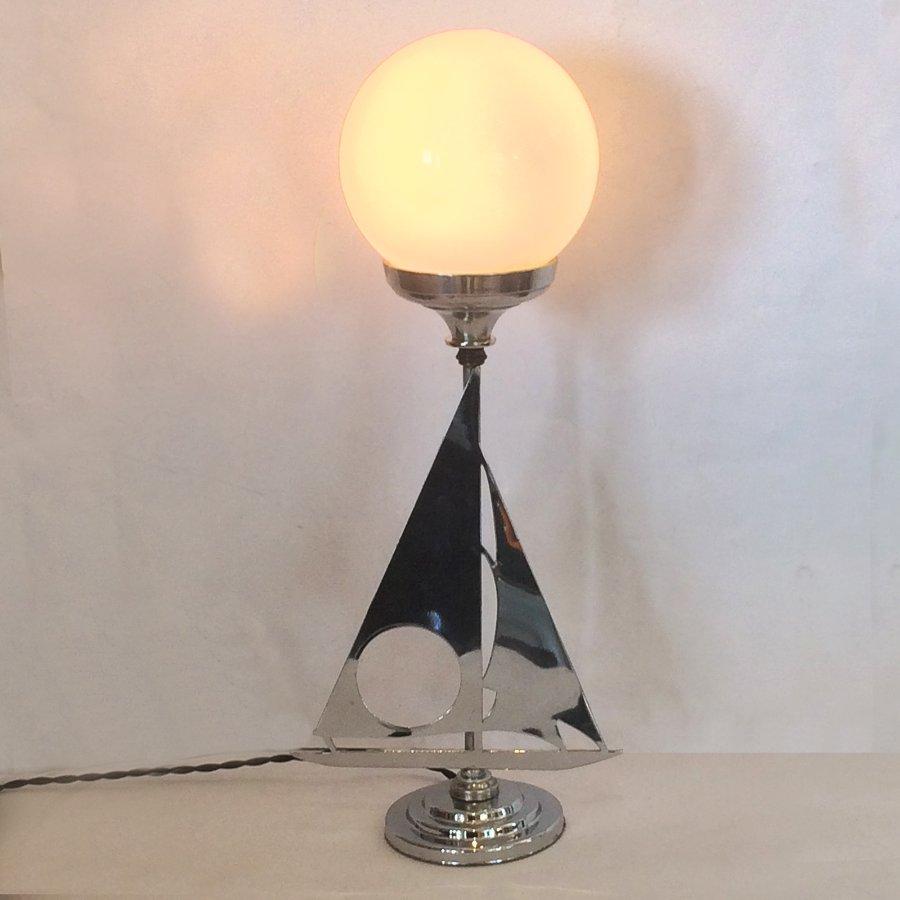 Buy Art Deco Yacht Lamp In Chrome From Artedeco