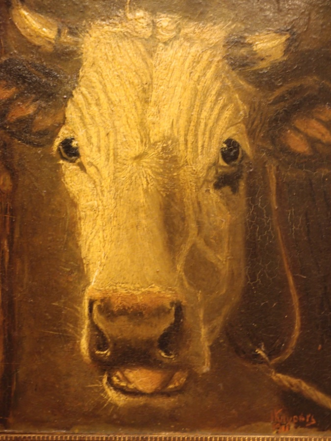 Buy Edwardian Cow Oil Painting From Roy S Antiques Pty Ltd