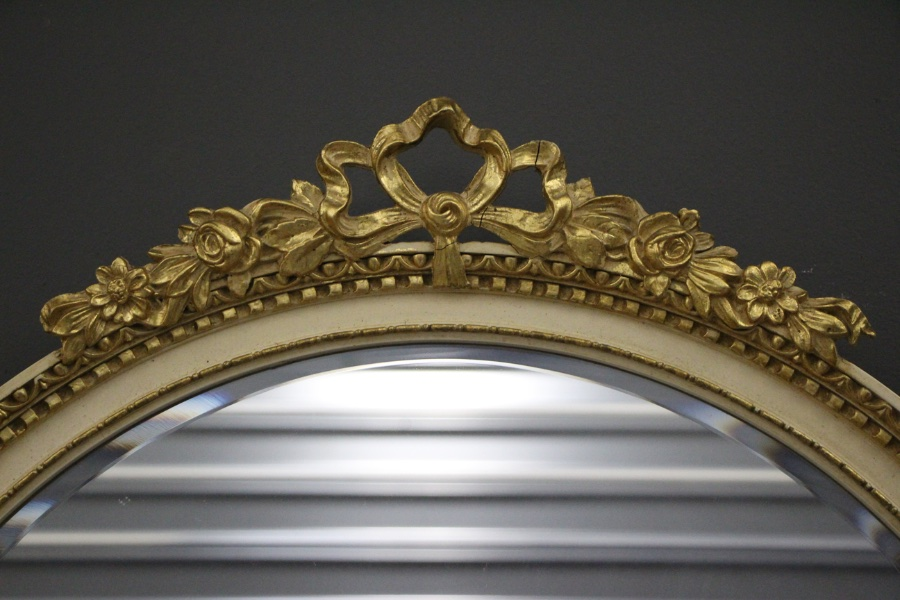 Buy French Louis Xvi Round Gilt Mirror From Antiques And