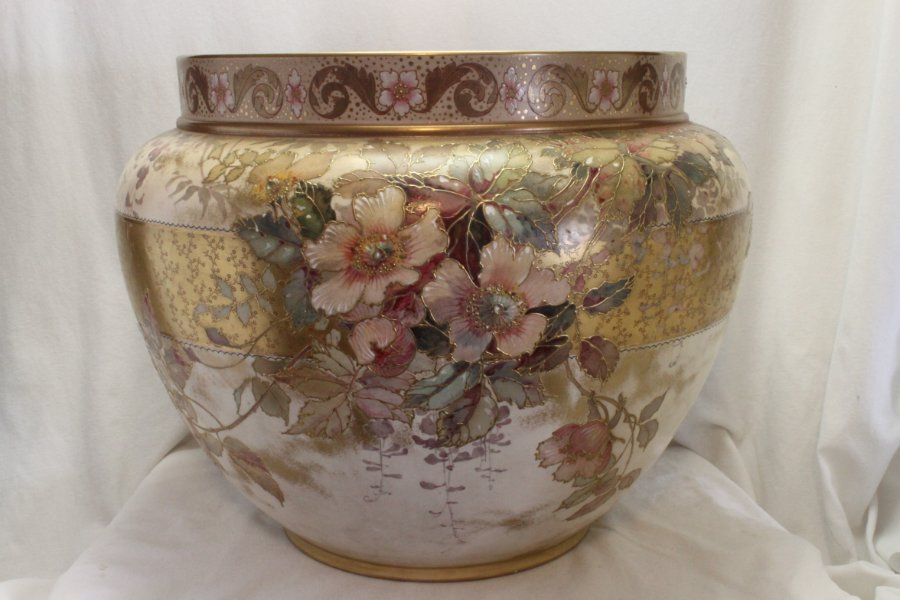Buy Doulton Burslem Spanish Ware Jardiniere From China