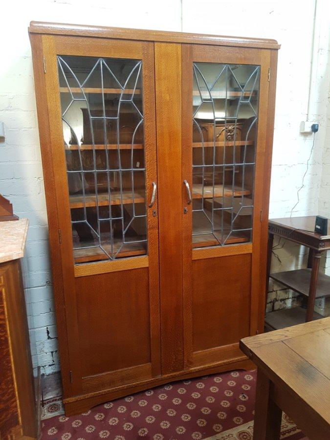 Buy Silky Oak Art Deco Bookcase From Brunswick Street