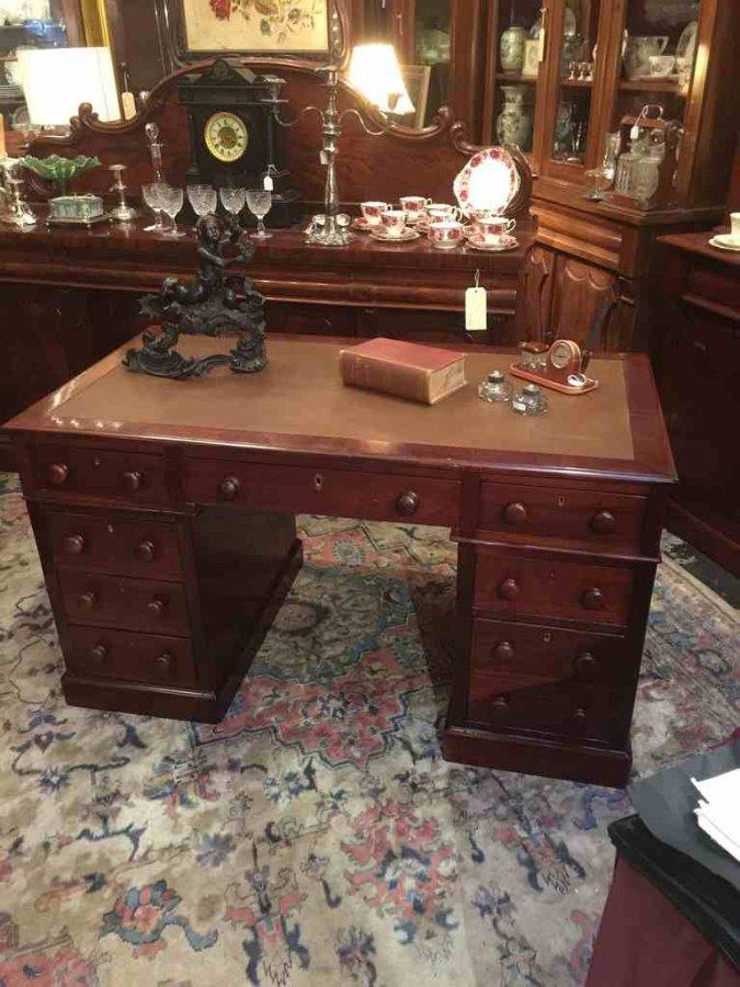 Antique desk in Australian cedar c1860 - Buy Antique Desk In Australian Cedar C1860 From The Old Post Office