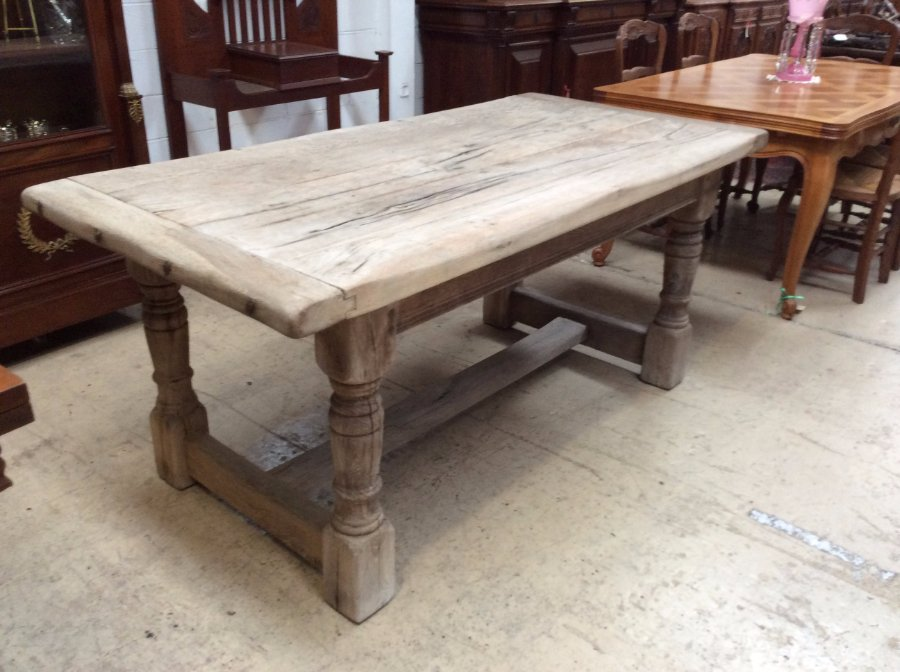 Buy Weathered French Farmhouse Table Plus Other Antique