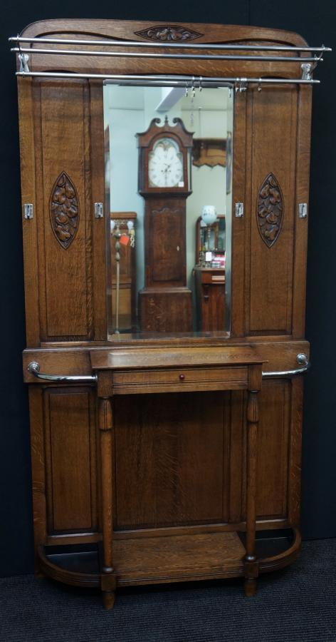 Buy French Art Deco Hall Stand From Seanic Antiques