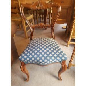 Antique rosewood chair ,in great condition .