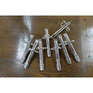 fabulous set of 7 silver Aspar
