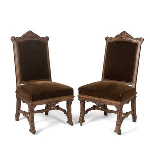 A pair of 19th century French