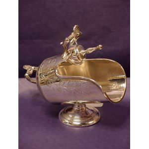 These charming sugar scuttles are a miniature version of the coal scuttle in use near fireplaces. The late Victorian...