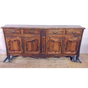A fine quality walnut Louis XV