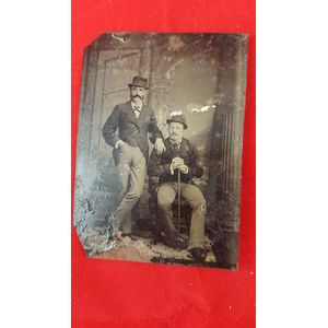 Lovely antique photo of two we