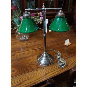 victorian style double desk la - Antique Lamp