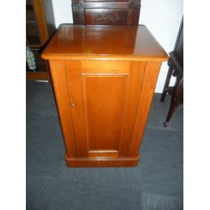 Victorian Cedar Cabinet Fitted With A Shelf In Great Condition.