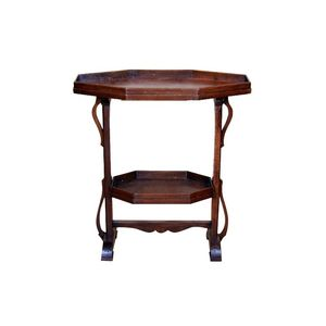 Made just after The Terror during the French Revolution, this late 18th century Directoire table has a raised edge on the top...