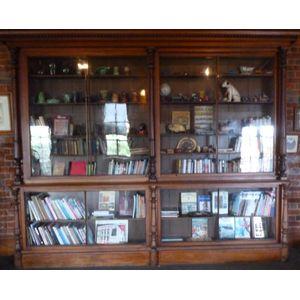 Large Victorian Cedar bookcase from the Convent of Mercy Victoria Street Ballarat Circa 1870. Good original condition with...