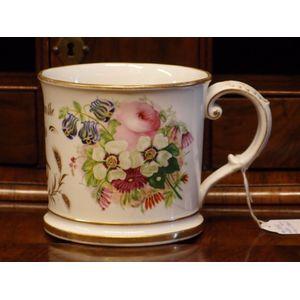 Possibly Coalport, this mug is