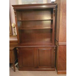 Antique Style Open Shelves Bookcase