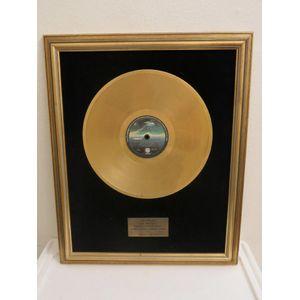 Dire Straits gold record on pr