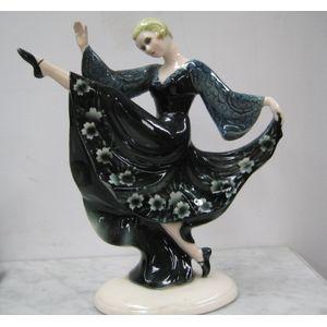 Stunning Art Deco Dancing Lady