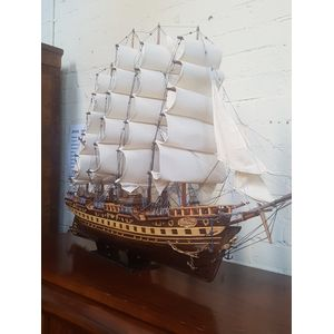 French model boat of France II