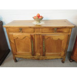 Early French Cherry Wood Buffet