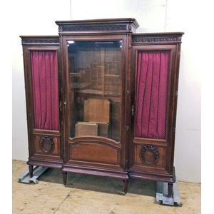 An excellent mahogany bookcase