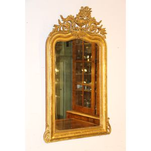 A very elegant giltwood French