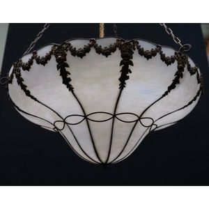 Large French Lead Light Shade