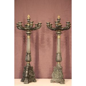 Tall pair of Charles X French