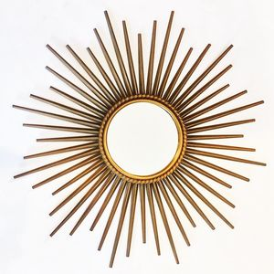 French Mid Century Mirror set