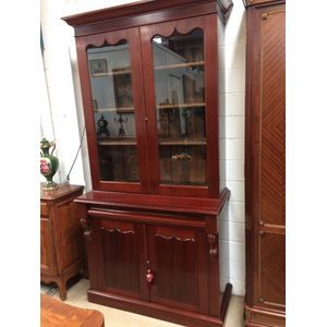 A fully restored Australian Cedar Bookcase in very good condition.