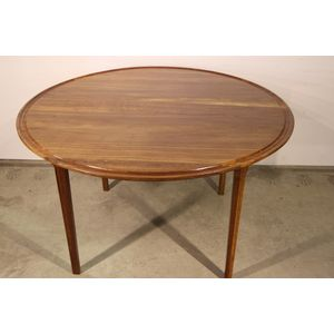 A large Danish solid rosewood