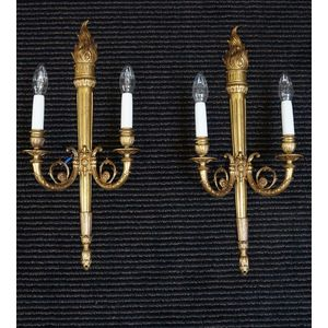 Pair of French Wall Lights ...