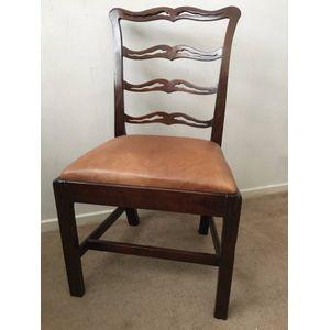 Georgian Mahogany Chair with c