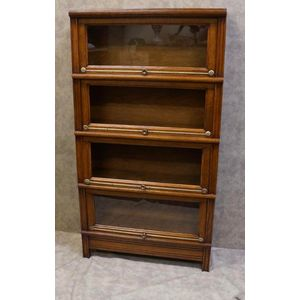 French Stacking Bookcase In Re