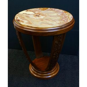 French Art Deco Hoop Table In