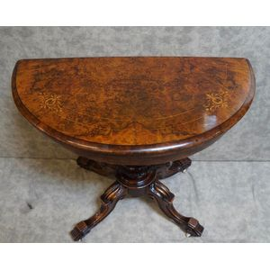 Victorian Card Table .....in Restored Condition
