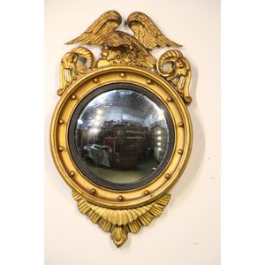 A gorgeous well carved mirror