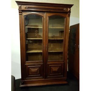 French walnut two door provinc