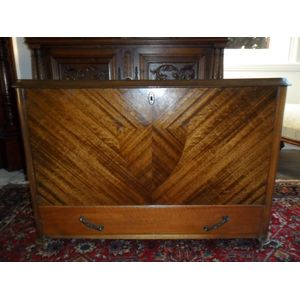 Art Deco Glory Box With Drawer Below In Great Condition