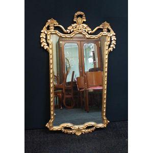 italian gilt mirror in good cl