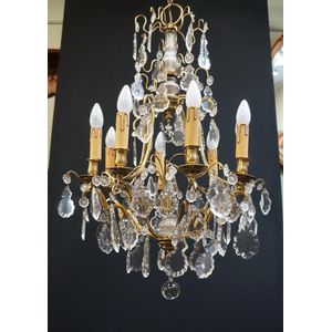 French Crystal Chandelier in R