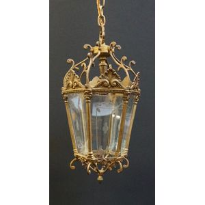 Small French Lantern In Rewire