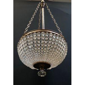 1930S Bronze Bohemian Crystal
