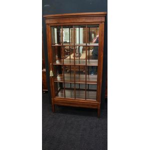 French Rosewood Display Cabine