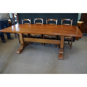 French Style Refectory Table .