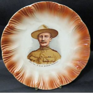 Antique Lord Baden-Powell Plaque