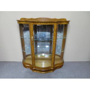 1940's English display cabinet