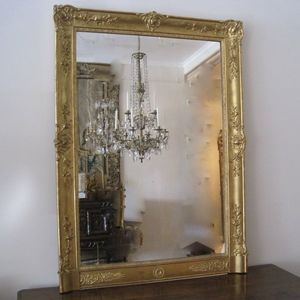 French Empire Gilt Mirror of r