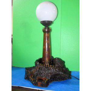 Art Deco Light House Lamp .Aus