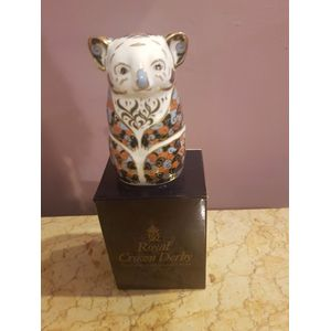 Royal crown derby queensland koala endangered specie .In excellent condition boxed .